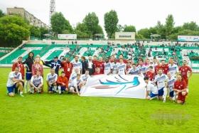 VI Чемпионата мира по футболу среди артистов (футбольно-музыкальный фестиваль «Арт-футбол»).