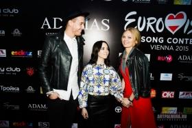 Ковровая дорожка перед официальной российской pre-party Eurovision Song Contest-2015