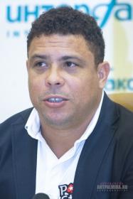 Пресс-конференция легенды мирового футбола Роналдо